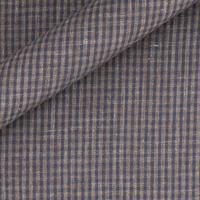 Gingham in pure linen
