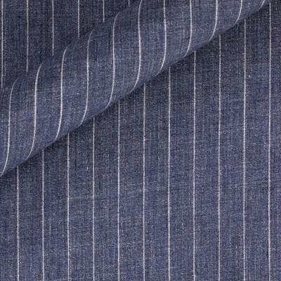 Pinstripe in pure linen