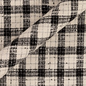 CHECKED TWEED