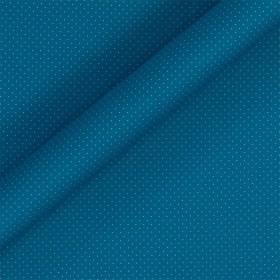 Polka dot print stretch cotton