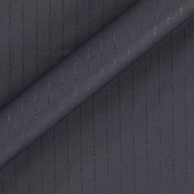 Pinstripe fabric with lurex