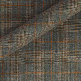 PRINCE OF WALES IN STRETCH WOOL